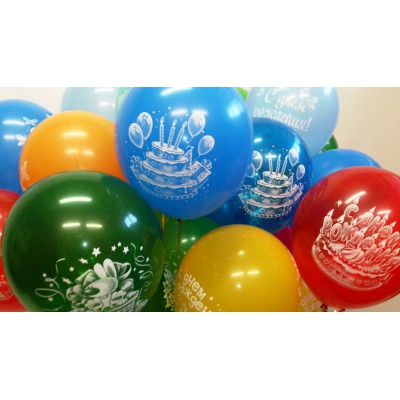 Воздушные шарики  тематические